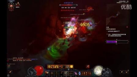 Diablo III 暗黑破坏神III 2.2太鸡血流炖鸡圣教军 一骑当千 万军从中取敌将首级 盾击54层重盾流!