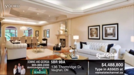 55625  5BR 9.0BA $4 488 800 136 Thornridge Dr. Vaugh...