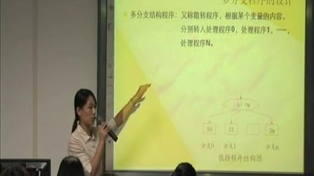 《汇编语言程序设计》高一通用技术教学视频-深圳市张俊玲老师