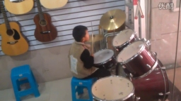 小鼓手其添大圣《流星》练习...