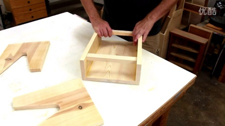 【木工diy】 室外工具收纳凳子图片