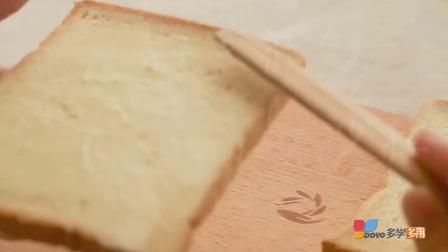 【多学多用】轻松自制火腿蛋三明治Yummy!