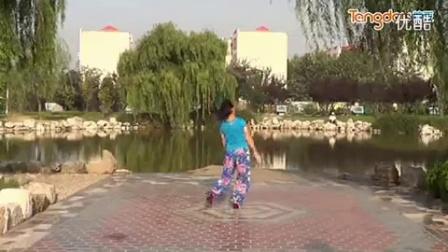 临盘立华广场舞 102 妹妹的山丹花 背面分解教学