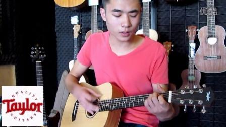 大地吉他盐城民谣培训中心泰勒taylorbt-1v大地视频拍s8图片
