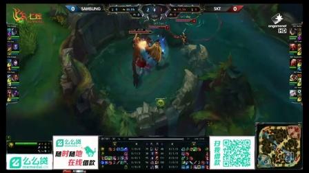 SKT vs Samsung 第1场 2015OGN夏季赛第四轮