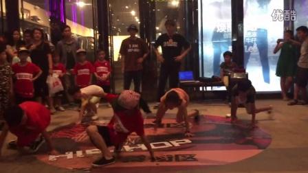 晋江万达金街跳街舞 街舞视频