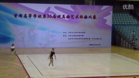 2015首都高等院校健美操男单张永桌