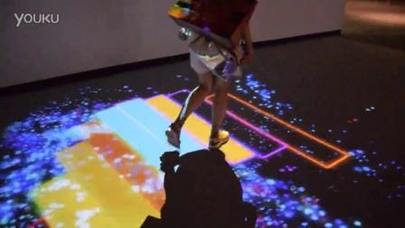 魔法美术馆彩虹栈道_多媒体互动艺术大展《魔法美术馆》首站亮相天