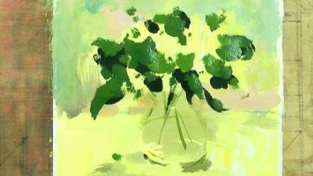 花卉水粉画法