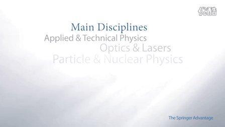 Springer电子期刊——物理和天文学