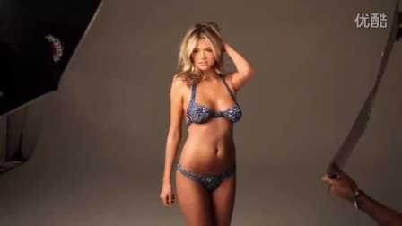 抖奶超模凯特阿普顿KateUpton比基尼泳装内衣写真