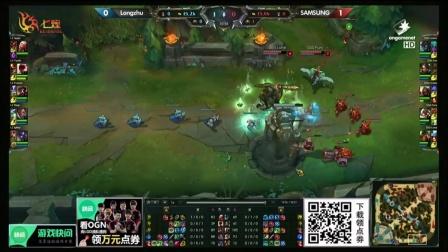 SAMSUNG vs IM 第2场 2015OGN(LCK)夏季赛第二季第二轮