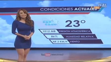 墨西哥全国收视率最高的一个天气预报节目