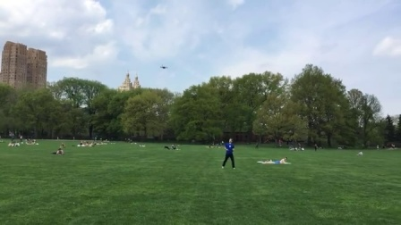 Lily Flying Camera Drone Demo in Central Park (Shutterbug