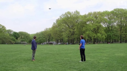 Drones  Testing the  selfie drone  in Central Park   Guardian Tech