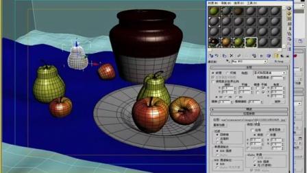 合肥微观世界3dmax设计制作培训教程--材质与烘培1