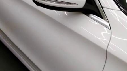郑州最好的汽车透明膜车衣裳河南省代奔驰巨亮U+透明膜效果