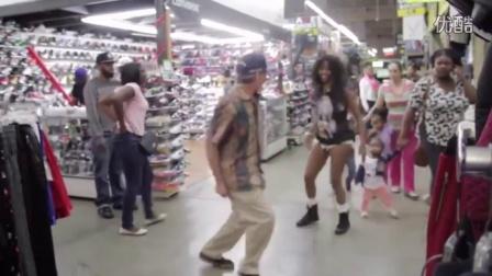大爷超市大跳热舞