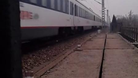 【纪念红白蓝列车】z167次 青岛-广州东 hxd3d牵引25t通过