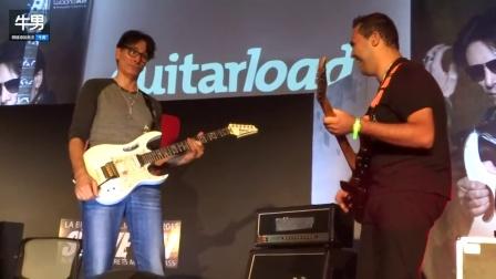 出神入化!吉他大师Steve Vai#Patrick Souza对飙电吉他