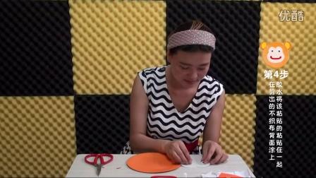 好老师幼儿园儿童手工制作动物纸盘《猴子》操作过程