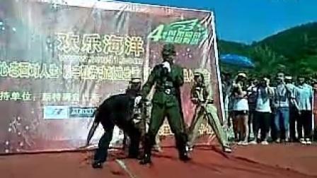 搞笑视频视频进村_标清-鬼子-3023综艺-30桩机小品夯图片
