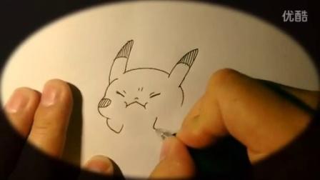 好看皮卡丘超简单画法 动漫女生铅笔画步骤 画皮卡丘的视 素描皮卡丘图片 皮卡丘的画法步骤 画动漫人物