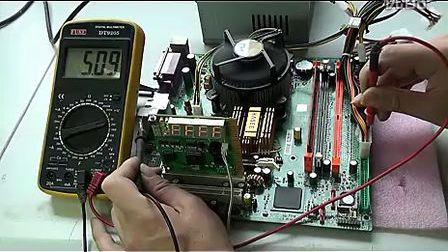 电脑时钟电路故障的检修