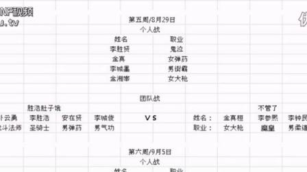 8月1号开打!第15届韩国OGN联赛线下赛对阵表