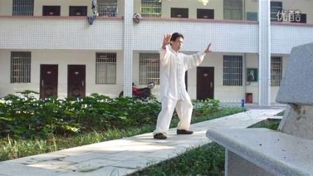 丁章倬【传统孙式太极拳97式禅修】2015年7月27日晨练记录