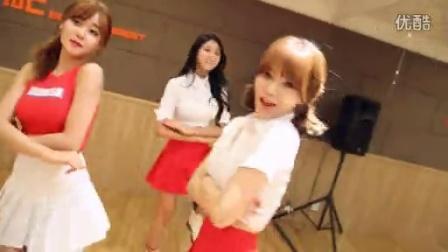 【风车·韩语】AOA《怦然心动》舞蹈练习室