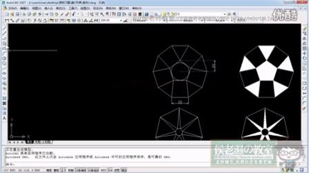 【专辑5-1】侯老师教室cad2007视频教程,cad2007室内设计视频教程