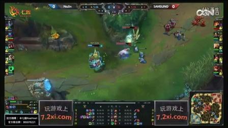 NAJIN vs SAMSUNG 第1场 2015OGN(LCK)夏季赛第二季第七轮