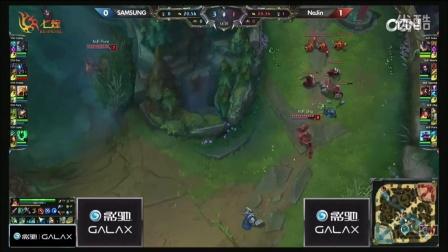 NAJIN vs SAMSUNG 第2场 2015OGN(LCK)夏季赛第二季第七轮