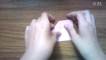 【折纸教程】爱心书签折法环保可爱
