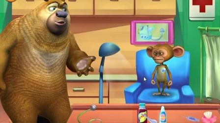 《熊出没之冬日乐翻天》★熊出没之智力拼图★-熊出没小游戏