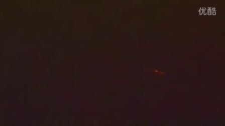 2015年8月7日国际空间站拍到3个红色光点的图片