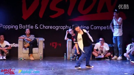 【vhiphop.com】李亚威 vs Franqey - Dance Vision vol.3 Popping Battle 16进8