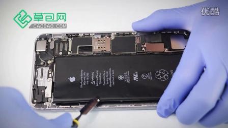 手机维修电铃苹果拆装4S尾插教程视频-v电铃元件技巧详解图片