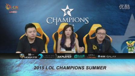 SKT vs KT 第1场 2015OGN(LCK)夏季赛总决赛