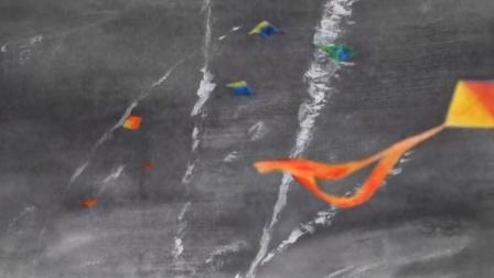 超逼格水墨写意动画《我听见歌声漫过雪山和人海》
