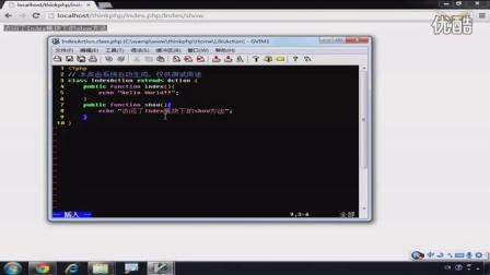 ThinkPHP 3.1.2 MVC模式和URL访问