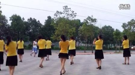 穿心村文雯广场舞溜溜的姑娘像朵花