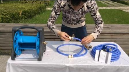 洗车水枪 水管车 水管链接 水龙头安装