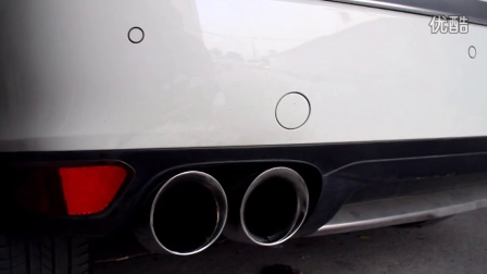捷卡宴 CGW排气 静态 汽车改装排气管跑车声音效果高清图片