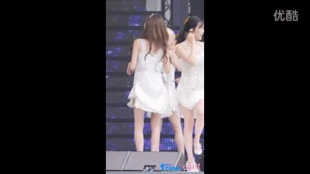 韩国少女时代 金泰妍 林允儿美白长腿 - Gee 彩排