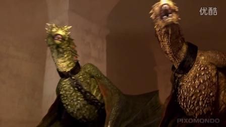 【Game of Thrones】权力游戏 s5  特效4 造龙