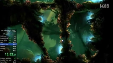 【RTA】【Ori and the blind forest】奥日与迷失森林 全程邪道最速  24m03s