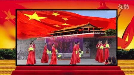 舞动广丰广场舞――五星红旗(中老年组)