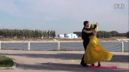 洮南许芳 孙嘉良锦湖公园维也纳华尔兹表演